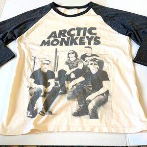 Vintage Arctic Monkeys Concert Tour T-shirt Band